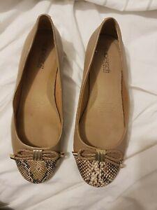Supersoft Super Soft By Diana Ferrari Women's Shoe Flat Shoes Ballet Size 8