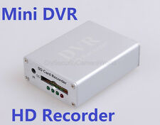 Mini DVR 1CH VIDEO 1CH AUDIO Realtime SD Card Video Recorder DVR For CCTV Camera