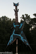DEAN DIME RAZORBACK LIGHTNING BOLT ORIGINAL CASE NICE RARE GUITAR WORLD SHIPPING