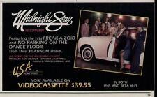 "1984 MIDNIGHT STAR ""NO PARKING ON THE DANCE FLOOR"" ALBUM PROMO AD"