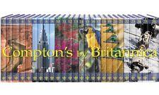 2010 Compton's Encyclopedia set, 26 volumes