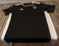 adidas Herren Trainings Trikot Funktions-Shirt Climalite schwarz/weiss Entrada L