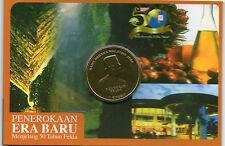 Malaysia 50th year FELDA Coin Card BU 2006