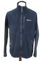 BERGHAUS Navy Fleece Windstopper Jacket Size L