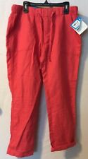 ~NWT~COLUMBIA Women's Linen Capri's Size Small