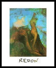 Odilon Redon la nascita di Venere poster immagine stampa d'arte nel quadro in alluminio 30x24cm