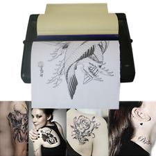 Black Tattoo Transfer Copier Printer Machine Thermal Stencil Paper Maker Art USA