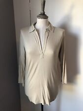 Majestic Filatures Paris Soft Gold Jersey Shirt Size 1 BNWT