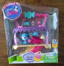 Littlest Pet Shop Sweetest Party Cake Clubhouse Playset Toy #3017 #3018