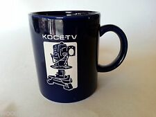 Vintage BLUE KOCE - TV ETCHED COFFEE MUG