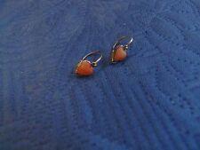 Kleine Ohrringe - Kinder Ohrringe 585er Gold - Koralle
