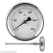 TERMOMETRO FORNO 0+500°C SONDA DA 50cm IN METALLO