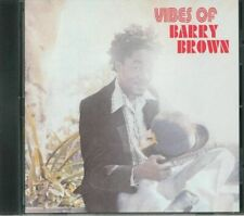 BARRY BROWN - VIBES OF BARRY BROWN CD
