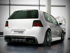 VW volkswagen golf 4 Heck delantal alerón trasero parachoques rear bumper Rabbit