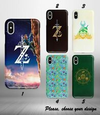Case for iphone 11 12 pro max XR X XS SE 2020 8 7 plus + The Legend of Zelda SN