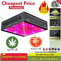 Mars Hydro ECO 300W LED Grow Light Full Spectrum Veg Bloom Indoor Plant Lamp IR