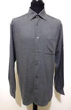 HUGO BOSS Camicia Uomo Viscosa Cotton Rayon Man Shirt Sz.XL - 52