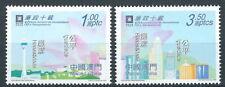 Macau - 10 Jahre Kommission gegen Korruption Satz postfrisch 2002 Mi. 1220-1221