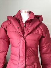 Timberland Earthkeep Women Down Jacket Dark Red Small RRP£190
