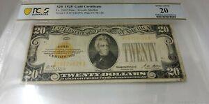 1928 $20 Gold Certificate FR-2402 - PCGS Very Fine 20