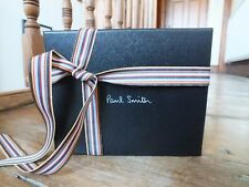 *** PAUL SMITH Black Leather Wallet, Ghetto Blaster Design, New, Boxed, £175 (10