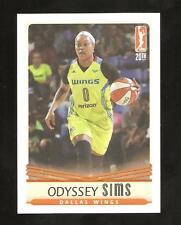 odyssey sims 2016 wnba  card ,dallas wings,,baylor bear,ncaa