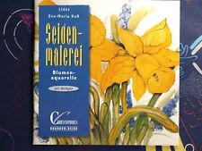 Seidenmalerei Buch mit Vorlagen - Blumenaquarelle