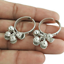 Toe Ring Size Adjustable B13 Handmade 925 Solid Sterling Silver Jewelry