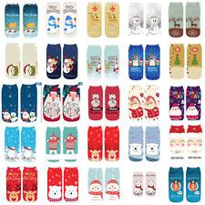 Christmas Cool Polyester Print Women Unisex Hosiery Funny Snowman Ankle Socks
