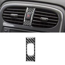 Carbon Fiber Warning Light Button Cover Trim For Chevrolet Corvette C6 2005-2007