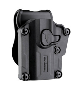 Left Handed Universal Level 2 OWB Gun Paddle Holster w/ Quick Release Button