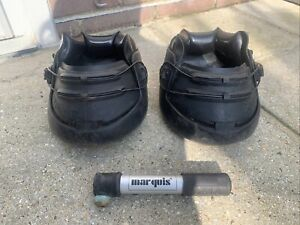 Marquis Supergrip Horse Hoof Boots Size 3 Pair