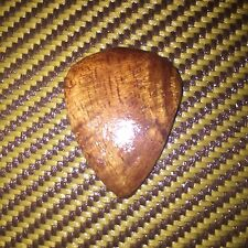 1 hand made hawaiian koa wood guitar pick plectrum by SUPERANTONIO