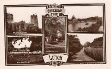 Luton  Multi View (A) Hart Hill  unused RP old pc A E Nicholls