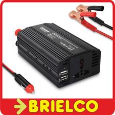 CONVERTIDOR INVERSOR TENSION 12VDC A 220VAC 300W PINZAS TOMA DE MECHERO BD11760