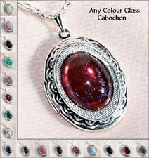Glass Alloy Oval Costume Necklaces & Pendants