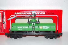 American Flyer 6-48403 British Columba Rwy Tank Car BCOL 8403 S Scale 1 dome oil