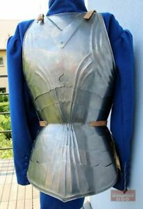 Halloween Breast Plate Medieval Gothic Armor Jacket Costume With Leather Strap