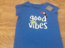 Baby Girls Next Taglia 3 anni Blue Toucan T-Shirt-Tag Nuovo di zecca con