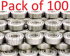 100 Skate/Board Ball Bearings 608ZZ Skateboard/inline Wholesale Lots 8mm 22mm OD