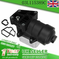 Oil Filter Housing w/ Cooler assembly For VW SEAT SKODA 1.6 2.0 TDI 03L115389C