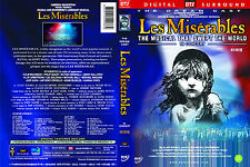 Les Miserables 10th Anniversary Concert (DVD,All,Sealed,New) The Dream Cast by