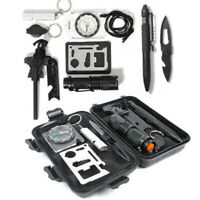 Survival Kit Emergency Tools Military Camping Tactical Outdoor Disaster Zombie