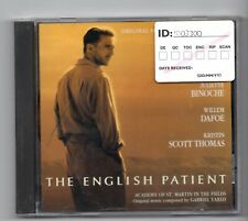 (JF436) The English Patient, Soundtrack - 1996 CD