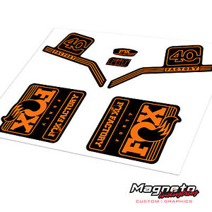 Fox 40 2016 - Reproduction Fork Decals