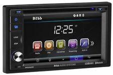 "BOSS BV9362BI 2 DIN CAR DVD/CD PLAYER 6.2"" MONITOR BLUETOOTH USB iPOD CONTROLS"