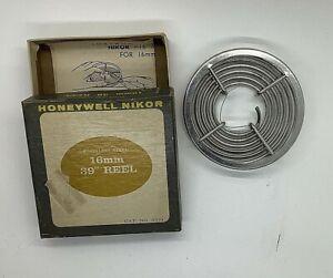 Honeywell Nikor 16mm 110 Stainless Steel Film Developing Reel in Box - Vintage