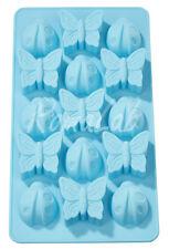 STAMPO IN SILICONE uso alimentare farfalle coccinelle x gessi molds