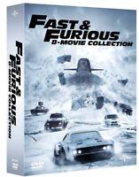 FAST AND FURIOUS COLLEZIONE 8 FILM (8 DVD) SECONDA EDIZIONE AMARAY Vin Diesel