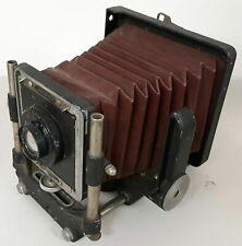"RARE 4x5"" Speed-Vue Anastigmat F-6.8 7-1/2 in Newton Photo Products SV-1 Camera"